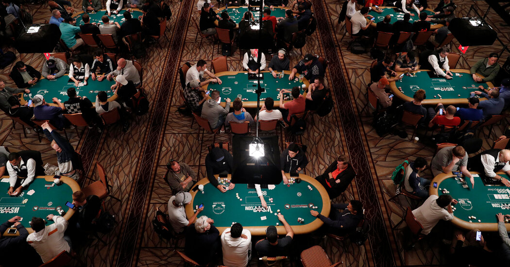 Untuk Bermain Poker dalam Pandemi, Orang Amerika Kabur dari AS