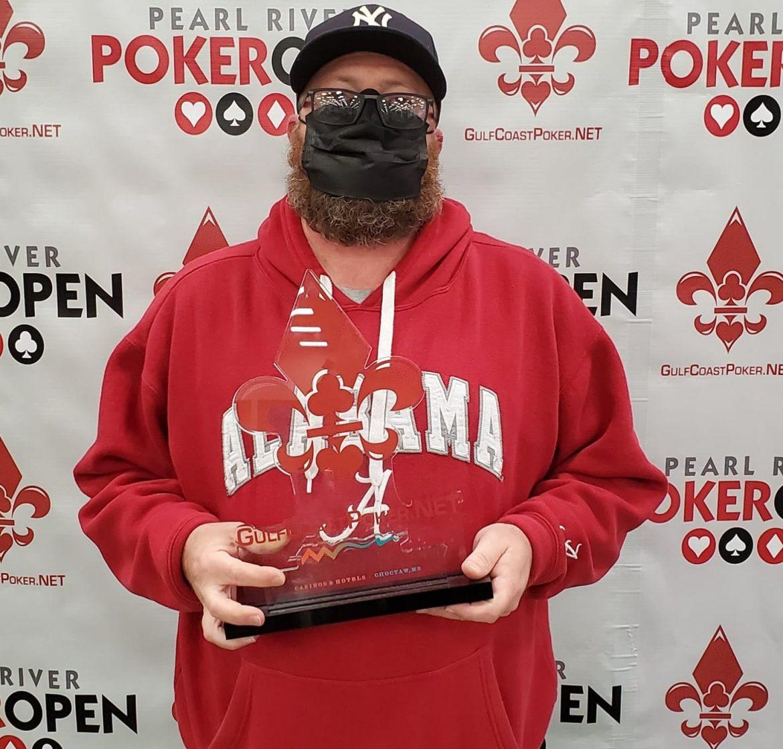 Christopher Nunnally Memenangkan Pearl River Poker Terbuka $ 600 Acara Utama ($ 57. 835)