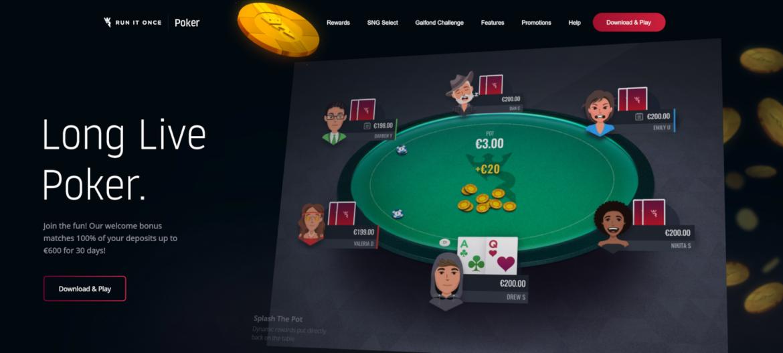Run It Once Poker di 2020: Inovasi, Promosi, dan Pertumbuhan